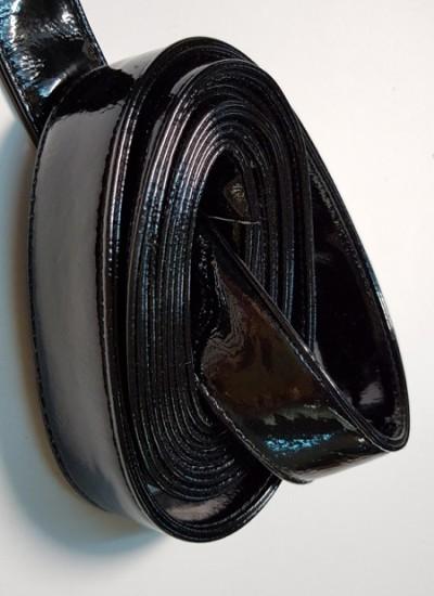 Ручки сумочные ПЛОСКИЕ черный ЛАК