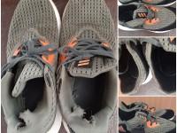 Реставрация кроссовок (накладные детали, задники)