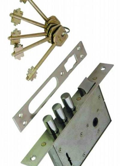 Изготовление сувальдных ключей
