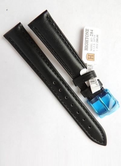 Ремешки для часов HIGHTONE №284 (размер 16мм) Черн.