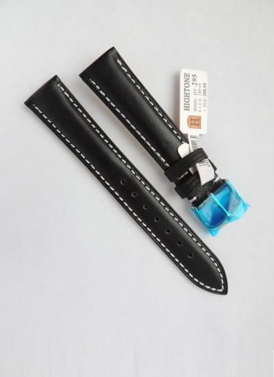 Ремешки для часов HIGHTONE №295 (размер 18мм) Черн.