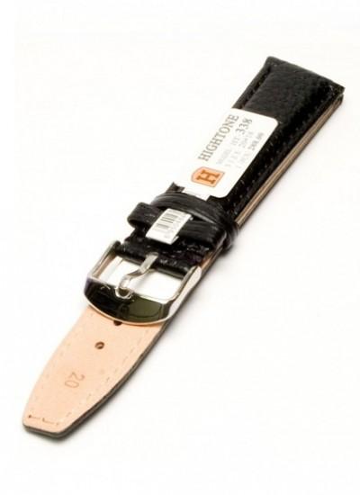 Ремешки для часов HIGHTONE №338 (размер 20мм) Черн. Питон.