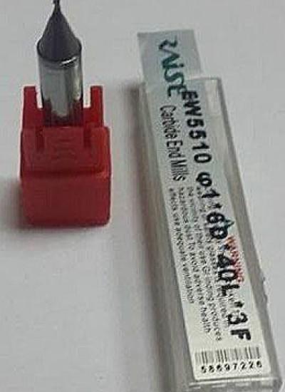 Фреза для верт. станка 1,0 мм карбидовая КНР