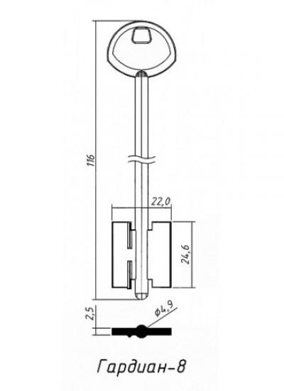 Д474 Гардиан-8 (желтый)