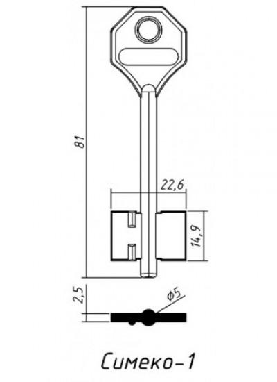 Д431 СИМЕКО 1 (желтый)