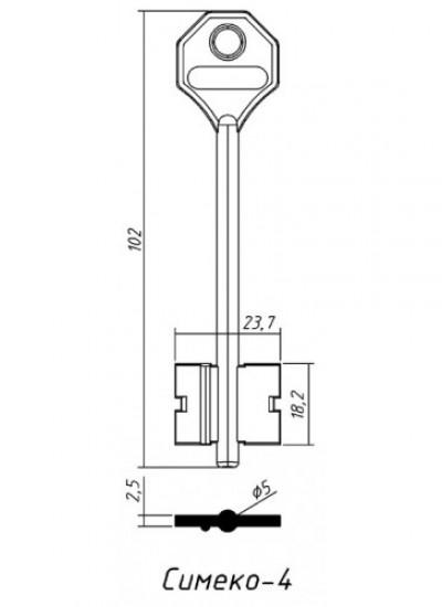 Д429 СИМЕКО 4 (желтый)