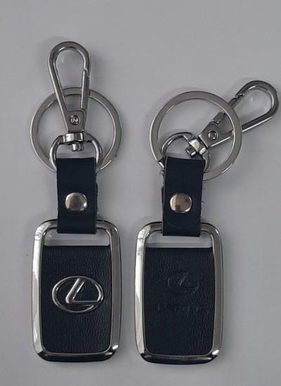 Брелок Lexus с карабином и кольцом