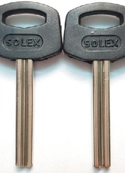 Ф6 SOLEX пластик, квадрат с пазом  КНР