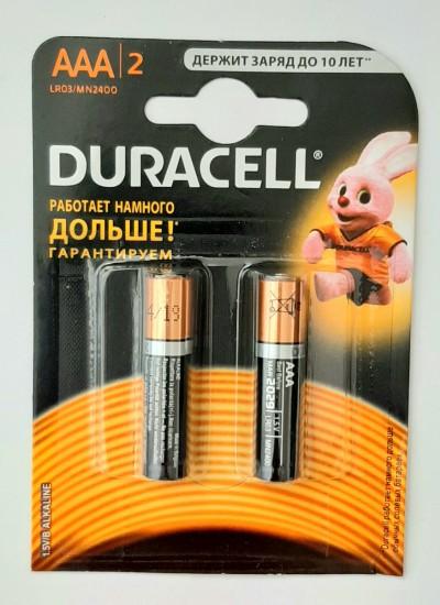 Батарейка DURACELL LR03 BL2