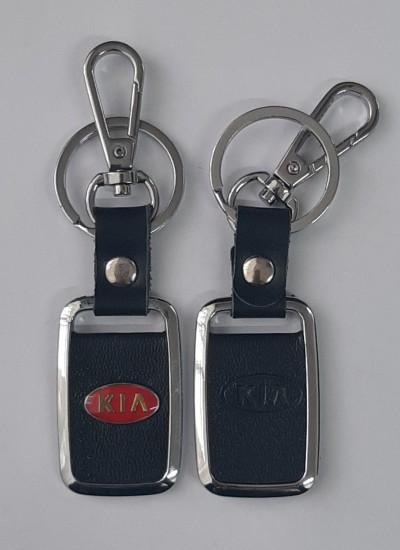 Брелок KIA с карабином и кольцом