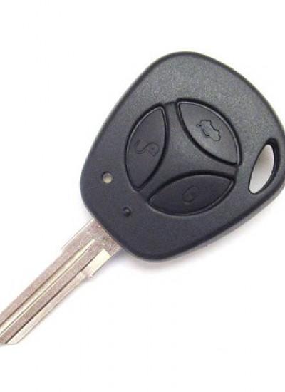 Заготовка ключа замка зажигания Калина, Приора, Гранта, Нива, Datsun