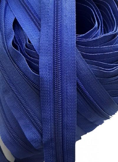 Молния рулонная, спираль Т-7, синий