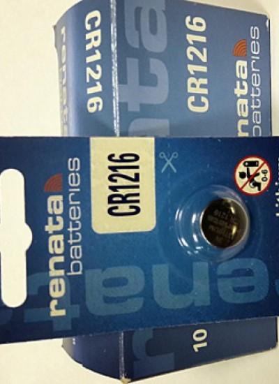 Батарейки фирмы RENATA 1216