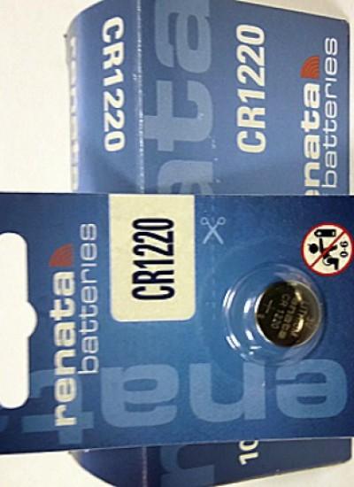 Батарейки фирмы RENATA 1220
