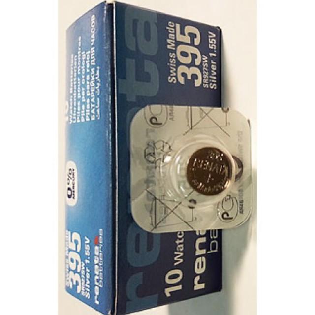 Батарейки фирмы RENATA 395