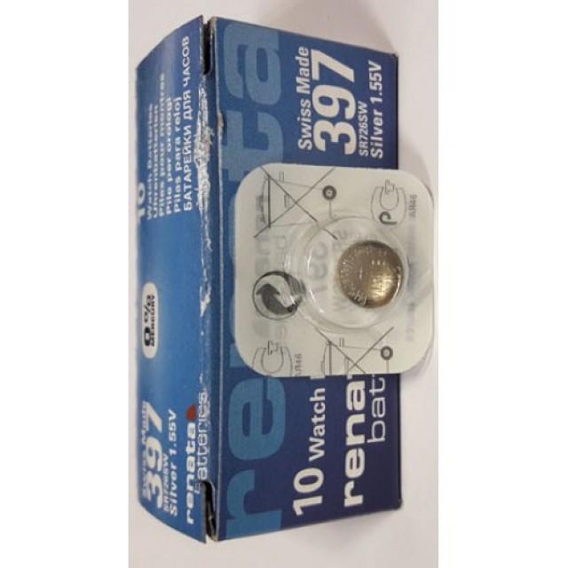 Батарейки фирмы RENATA 397