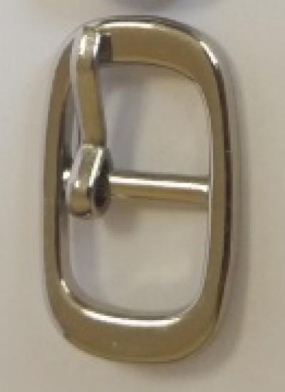 ПРЯЖКА ОБУВНАЯ 10mm (7294) никель