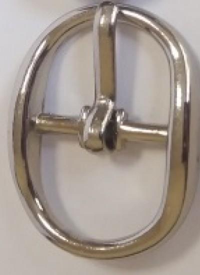 ПРЯЖКА ОБУВНАЯ 10mm (A7898) никель