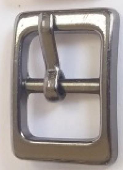 ПРЯЖКА ОБУВНАЯ 10mm (14946) т.никель