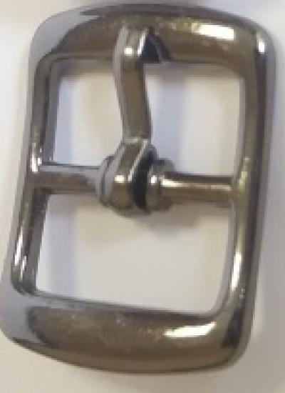 ПРЯЖКА ОБУВНАЯ 12mm (A3965) т.никель