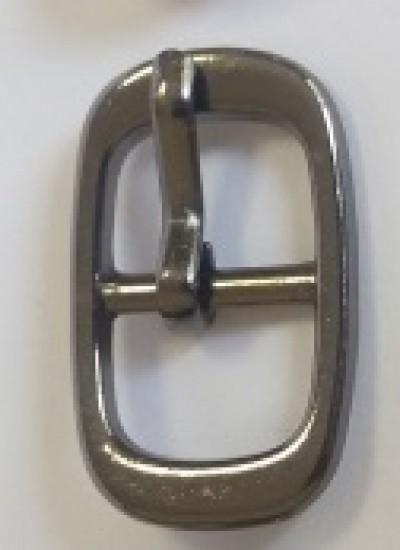 ПРЯЖКА ОБУВНАЯ 10mm (7294) т.никель