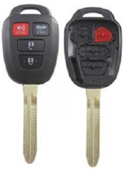 Toyota 3+1 кнопки KS-104A