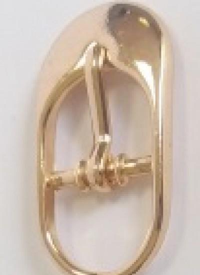 ПРЯЖКА ОБУВНАЯ 12mm (25590) золото