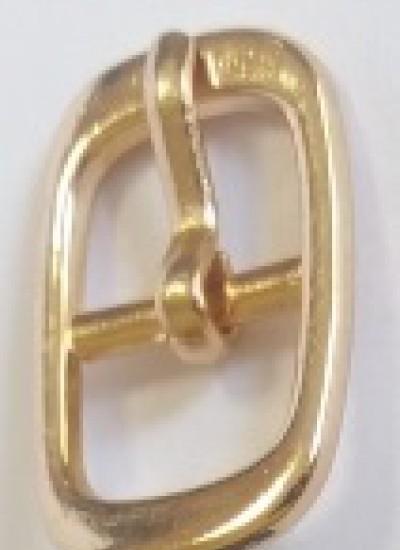 ПРЯЖКА ОБУВНАЯ 10mm (7294) золото